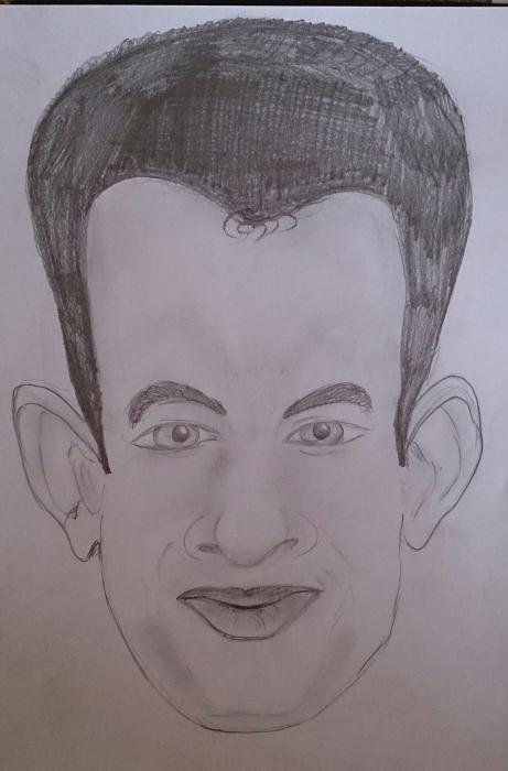 Tom Hanks by Garethdvs